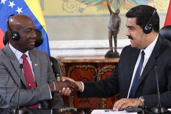 Rowley et Maduro