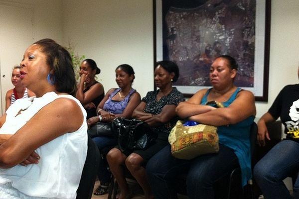 Les locataires de la Semader en réunion