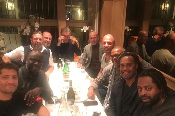 Equipe de France 98 en 2018