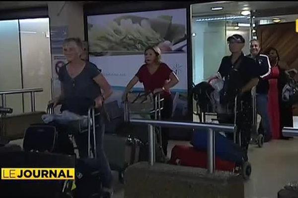 Grève Air France : des passagers enfin à Papeete !