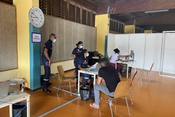 Vaccination au Progt à Matoury