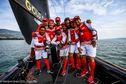 Des navigateurs tahitiens sur un lac Suisse