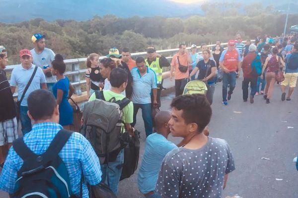 Exode des vénézuéliens
