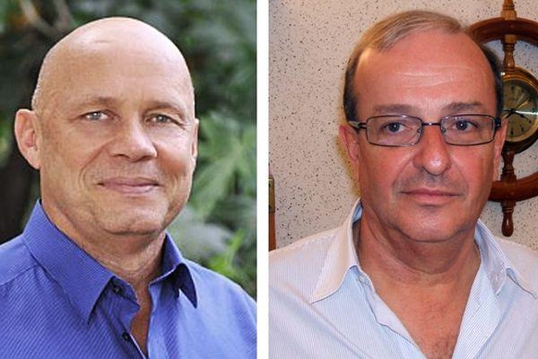 Yan Monplaisir et Henry Ernoult