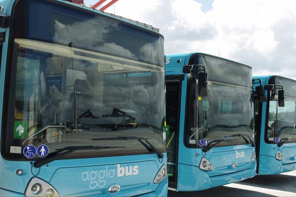 Les bus de l'agglo'bus