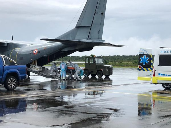 Une évacuation sanitaire Covid entre la Guyane et la Martinique
