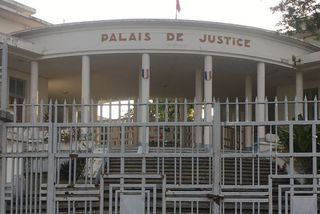 Palais de Justice de Basse-Terre en Guadeloupe