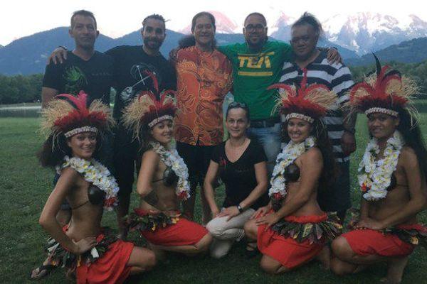 Tamouré et vahinés, la Polynésie assure le show aux pieds du Mont-Blanc