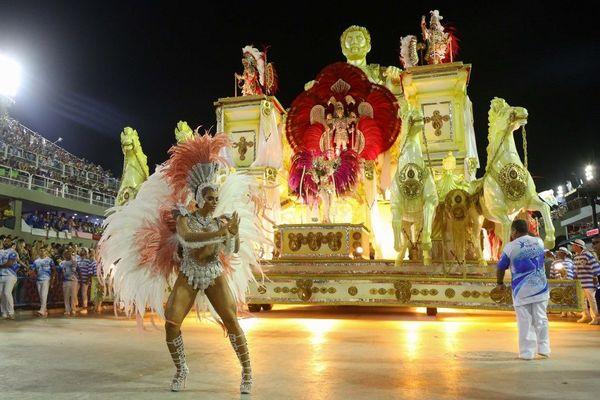 Carnaval de Rio, le 24 février 2020