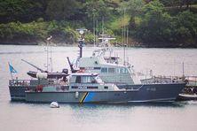 A Sainte Lucie, la garde-côte augmente ses patrouilles.