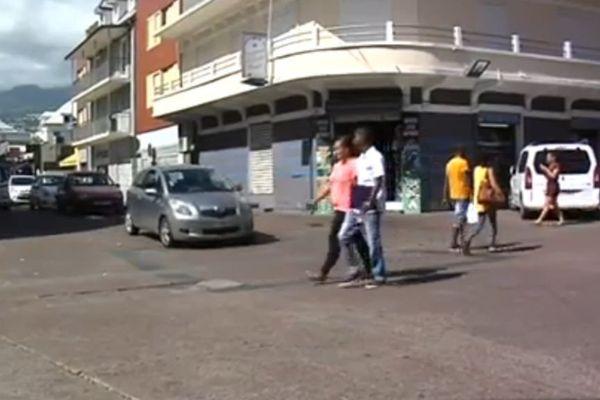 Piétons centre ville