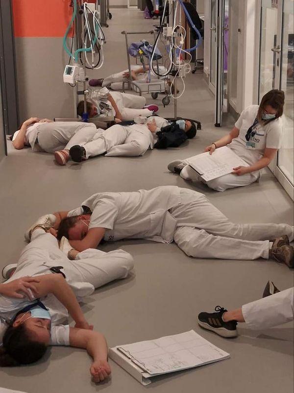 Le CHOR saturé, les infirmiers ko