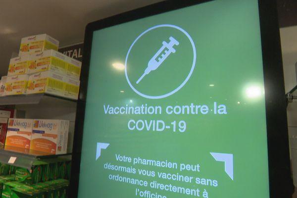 tableau vaccination en pharmacie
