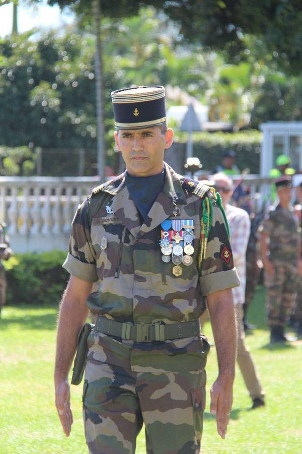Le Lieutenant Colonel Nicolas Bomont