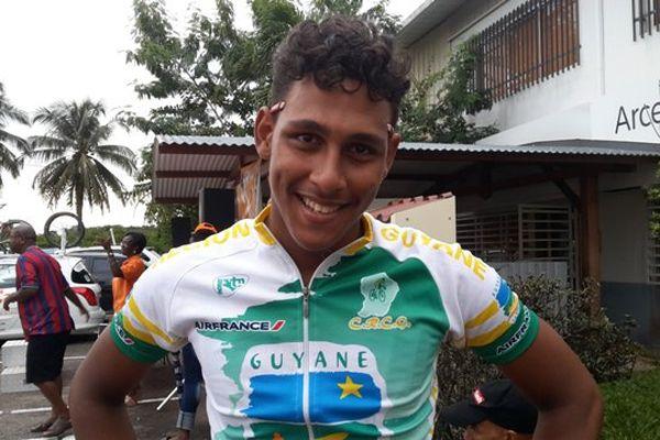 Steven Payet : Sélection Junior Guyane