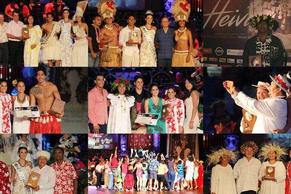 Heiva 2016 lauréats