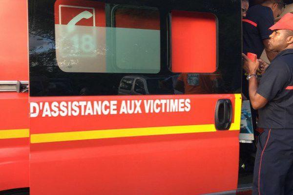 Les pompiers de Guyane en intervention.