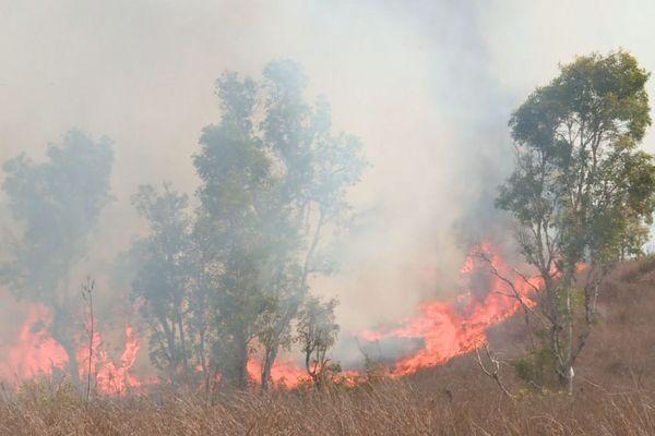 Le feu de Ouitchambo, mercredi 3 décembre.