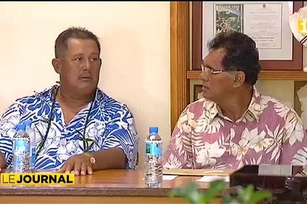 Municipales : Dauphin Domingo succède à Henry Florh à Hitiaa o Tera