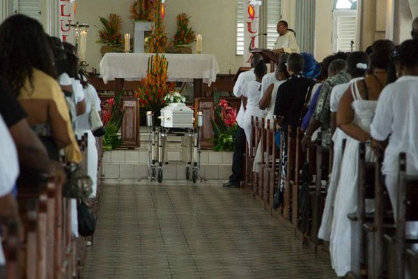 Obsèques Justine