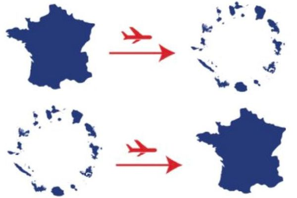 Voyager entre l'Hexagone et les Outre-mer