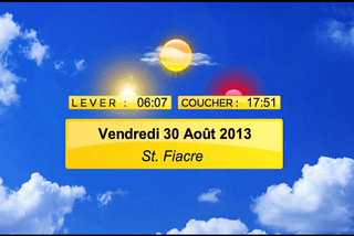 meteo 30 aout