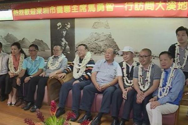 Une délégation de Shenzhen reçue à la Présidence
