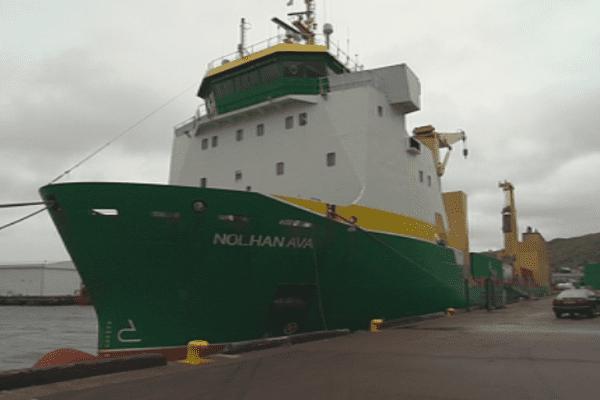 Grève des dockers à Saint-Pierre