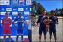 Coupe de France sur piste junior : le coureur martiniquais Emmanuel Houcou remporte deux épreuves, le Scratch et l'Américaine