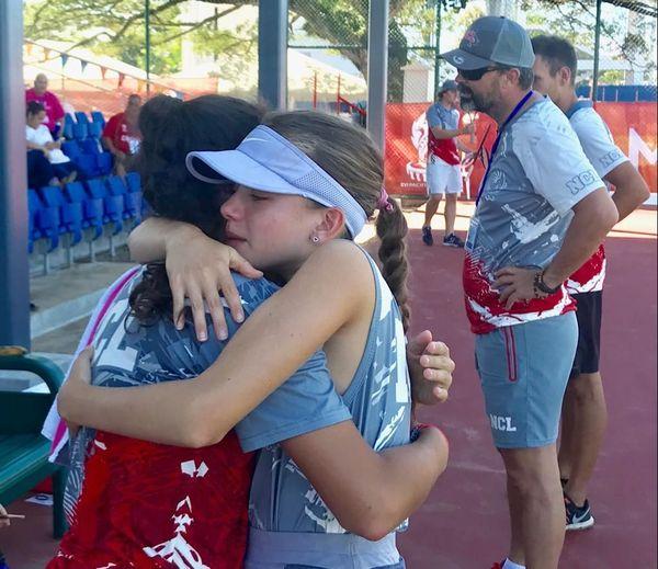 Samoa 2019, défaite du tennis féminin NC en demi-finale