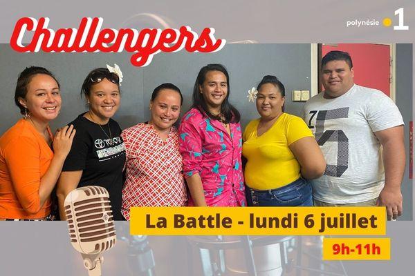 Concours radio CHALLENGERS 2020: la battle