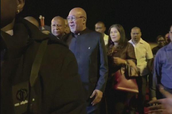 Un accueil chaleureux pour Dési Bouterse