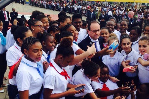 Hollande Selfie