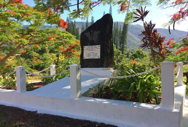 Monument commémoratif de Bangou, crash du DC4