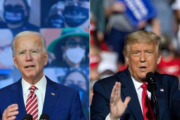 élection américaine 2020 : biden / trump
