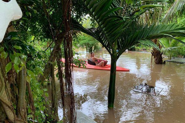 évacuation kayak bourail
