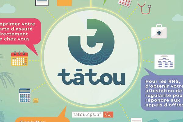Tatou, la nouvelle plateforme de la CPS
