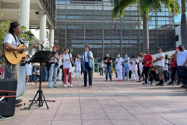 Ce vendredi 6 août est marqué par une journée de grève dans les hôpitaux réunionnais.