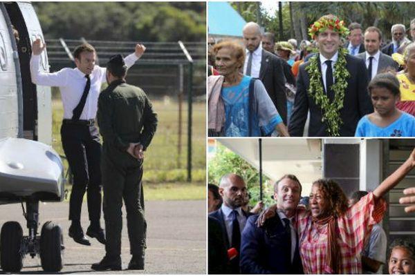 Macron insolite NC