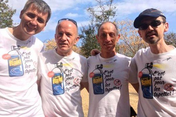 Les coureurs de la Fédération LGTB 2016