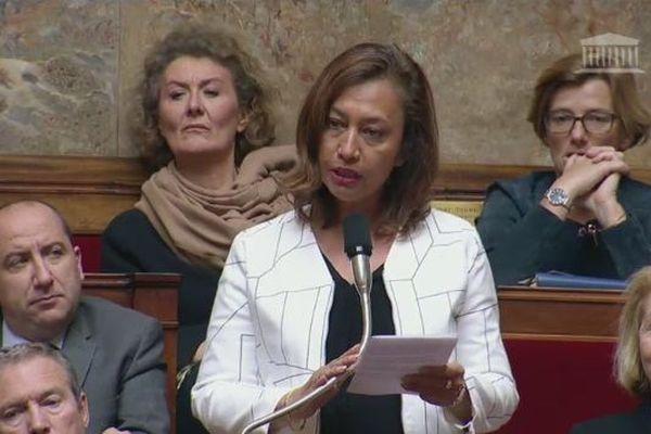 Nicole Sanquer à l'Assemblée nationale
