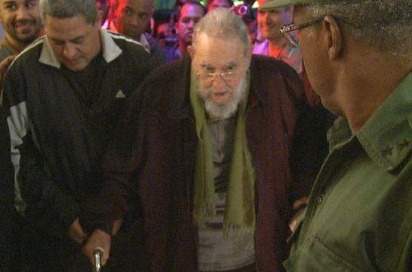 Fidel Castro 8 janvier 2014