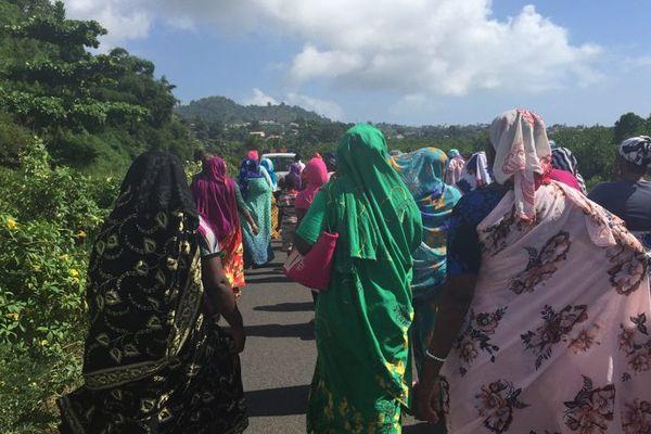 Marche des mamans contre la violence