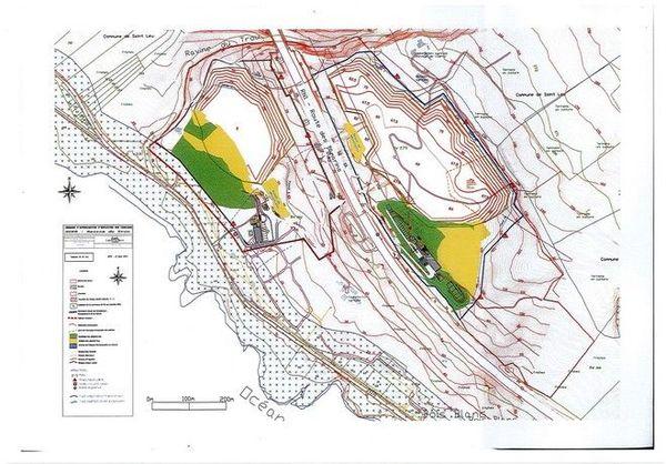 Carrière de Bois-Blanc Saint-Leu plan 291218