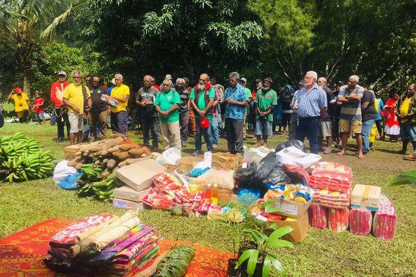Ouverture du 45e congrès du Palika, Amoa, Poindimié, 13 novembre 2020