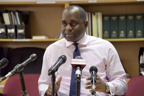 Roosevelt Skerrit, premier ministre de la Dominique