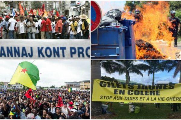Dix ans de crises sociales en Outre-mer