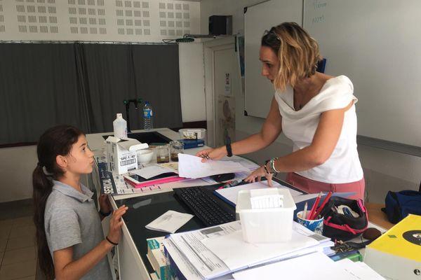 Des collégiens de Dumbéa-sur-Mer dans les pas de Thomas Pesquet