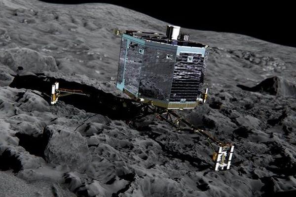 Philae s'est posé sur la comète