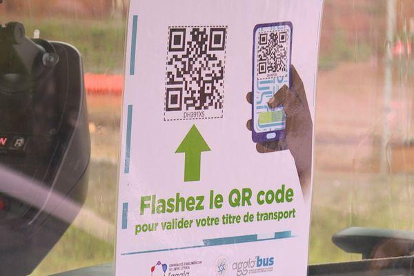 Le principe du QR code comme moyen de paiement dans les bus
